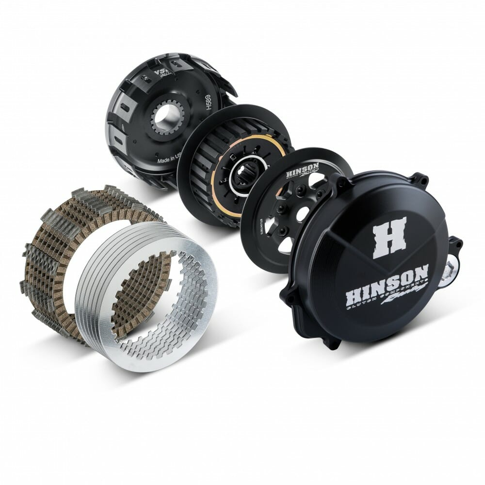 Hinson's 2017 Honda CRF450R Slipper Clutch