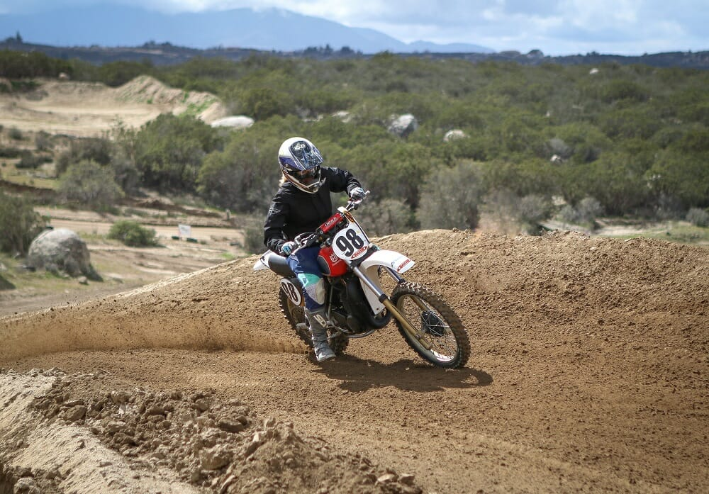 Back Page Cross-Rutted Vintage Adventure