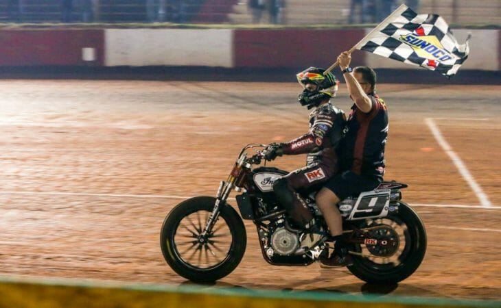 Mees Leads 'Wrecking Crew' Podium Sweep, Captures Atlanta Short Track Presented By Indian Motorcycle