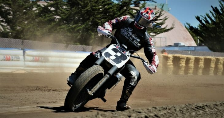 Indian Motorcycle to sponsor six American Flat Track races Photo by Brian J Nelson