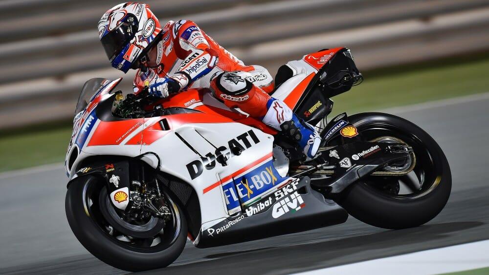 MotoGP Qatar Test Day 1: Dovizioso Dominates - Cycle News