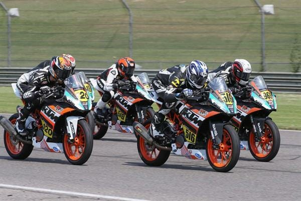 KTM RC Cup returns to the MotoAmerica Racing Series Photo by Brian J Nelson