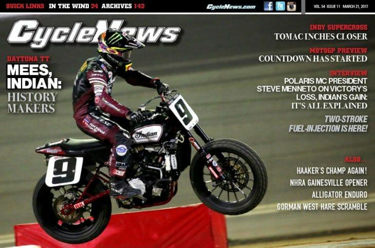 Cycle News Magazine #11: Daytona TT, Indy Supercross, MotoGP Preview...