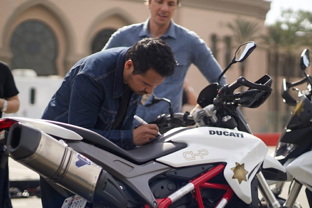 "Ducati Announces Charity Auction of Motorcycle Featured in Warner Bros. Action Comedy ""CHIPS"""