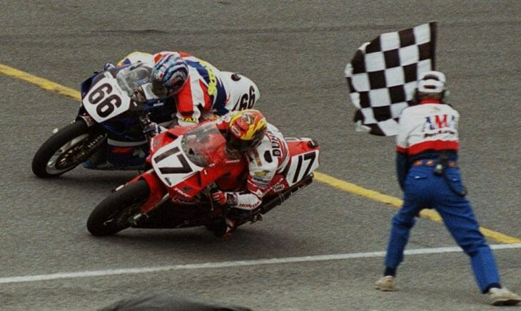 Duhamel's 1999 Daytona 200 victory was one of the best AMA Superbike races of all time.