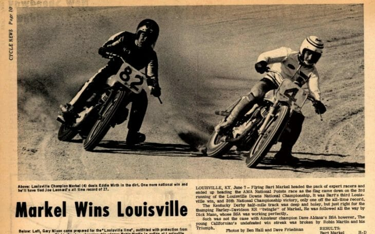 The AMA Grand National at Louisville Downs had a 25-year run. Bart Markel was the race's first winner.The AMA Grand National at Louisville Downs had a 25-year run. Bart Markel was the race's first winner.