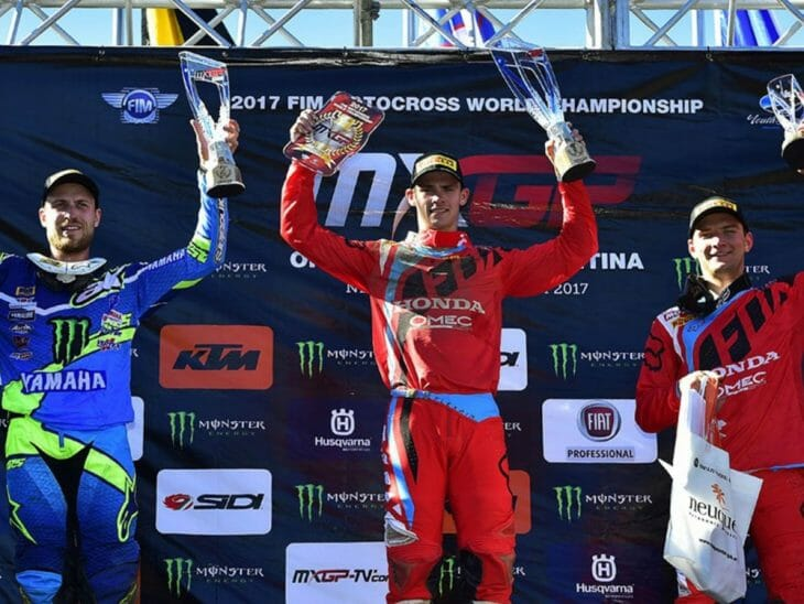 2017 MXGP Results From Agentina