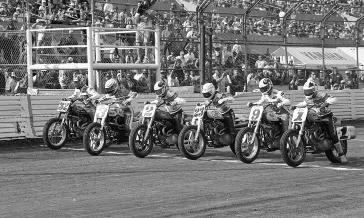 The start of the Camel Challenge race at the 1993 San Jose Mile.
