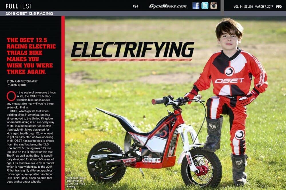 2016 OSET 12.5 Racing