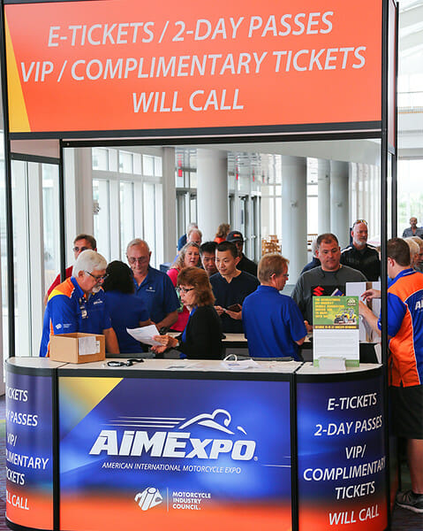 Tickets for the 2017 American International Motorcycle Expo On Sale Now