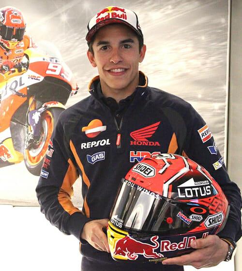 Shoei X-Fourteen Marc Márquez-Replica Helmet