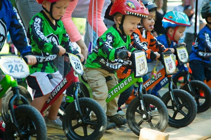 American Flat Track to add children's area for eight races, Strider bikes to bring two-wheeled toddler fun to events