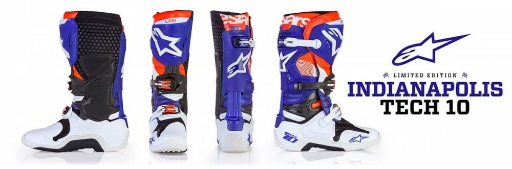 Alpinestars Presents: Limited Edition 'Indianapolis' Tech 10 Boot
