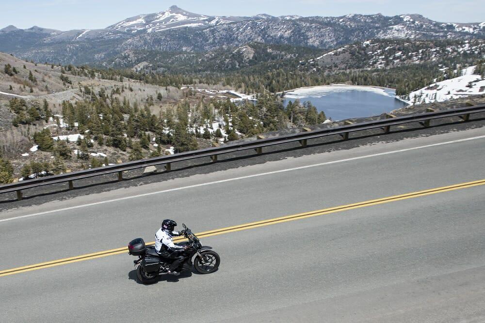E-Touring In California on the Zero DSR