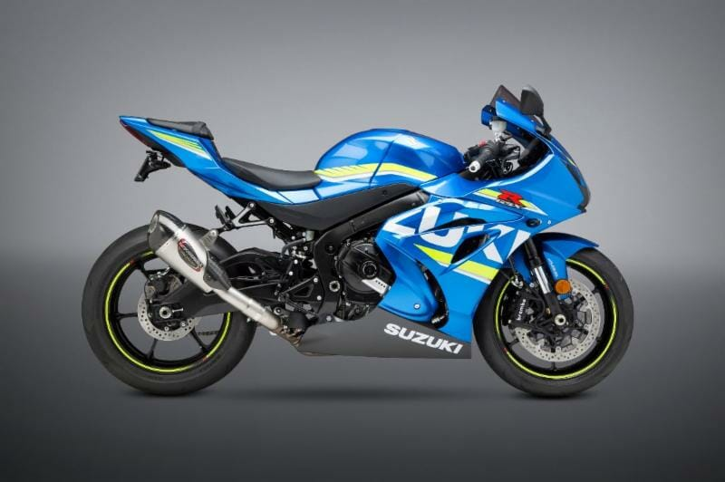 yoshimura applications for 2017 suzuki gsx r 1000 r cycle news. Black Bedroom Furniture Sets. Home Design Ideas