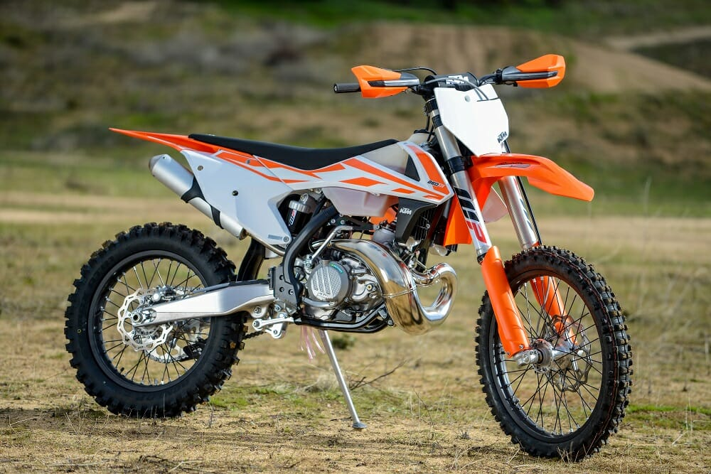 ... lot more are all new or revamped on the 2017 KTM 250 XC two-stroke