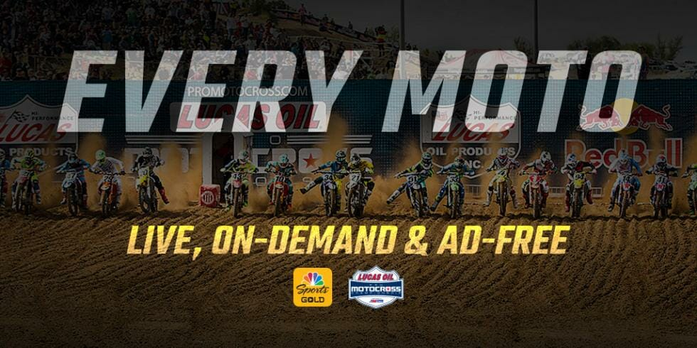 Live Stream Pro MX With NBC Sports Gold