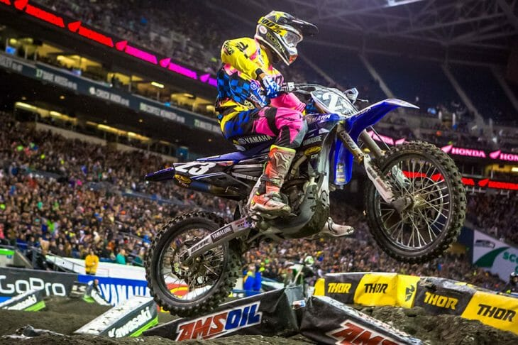2017 Seattle 250cc Supercross Results