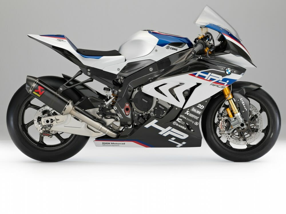 BMW HP4 Race First Look  Cycle News