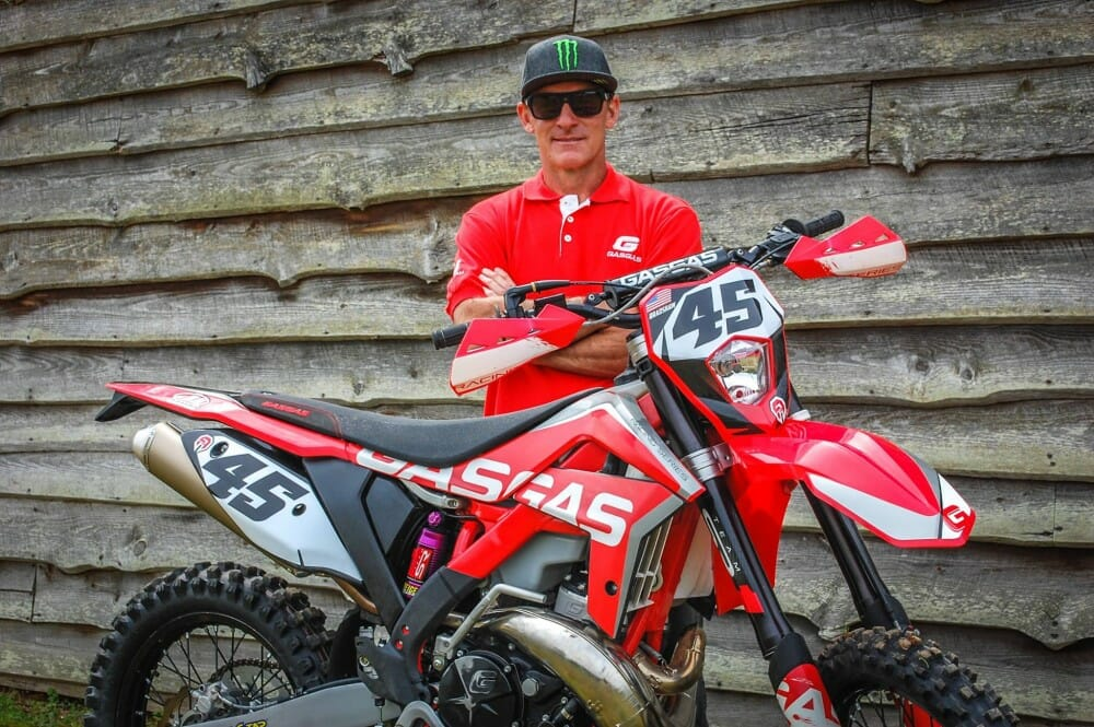 Damon Bradshaw Joins GasGas Off-Road
