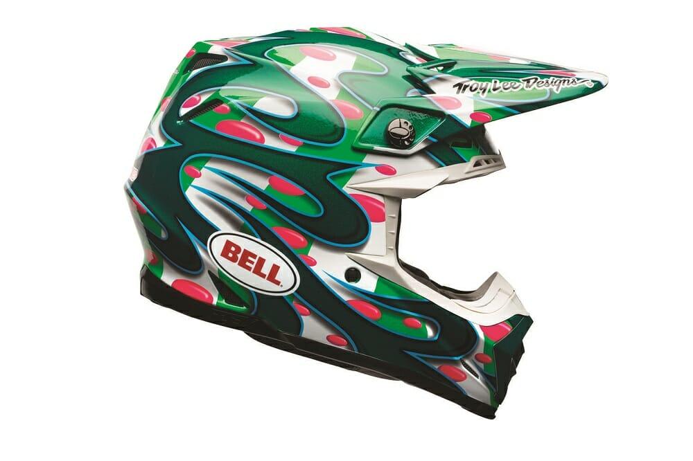 Bell Helmets' Moto-9 Flex McGrath Replica