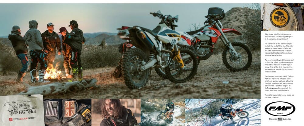 FMF Racing Flying Machine Stories Page