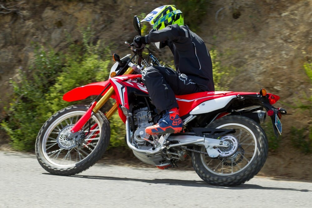 2017 honda crf250l rally crf250l first ride cycle news. Black Bedroom Furniture Sets. Home Design Ideas