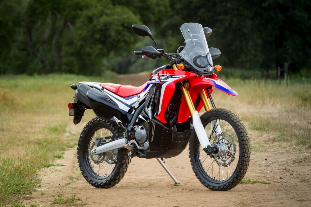 2017 honda crf250l rally review first ride autos post