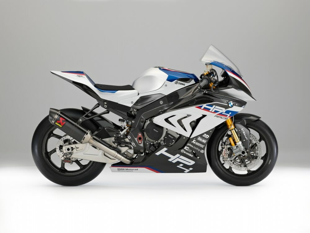 BMW HP4 Race First Look