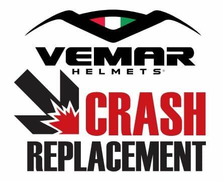 "Vemar helmet ""Crash Replacement Program"""