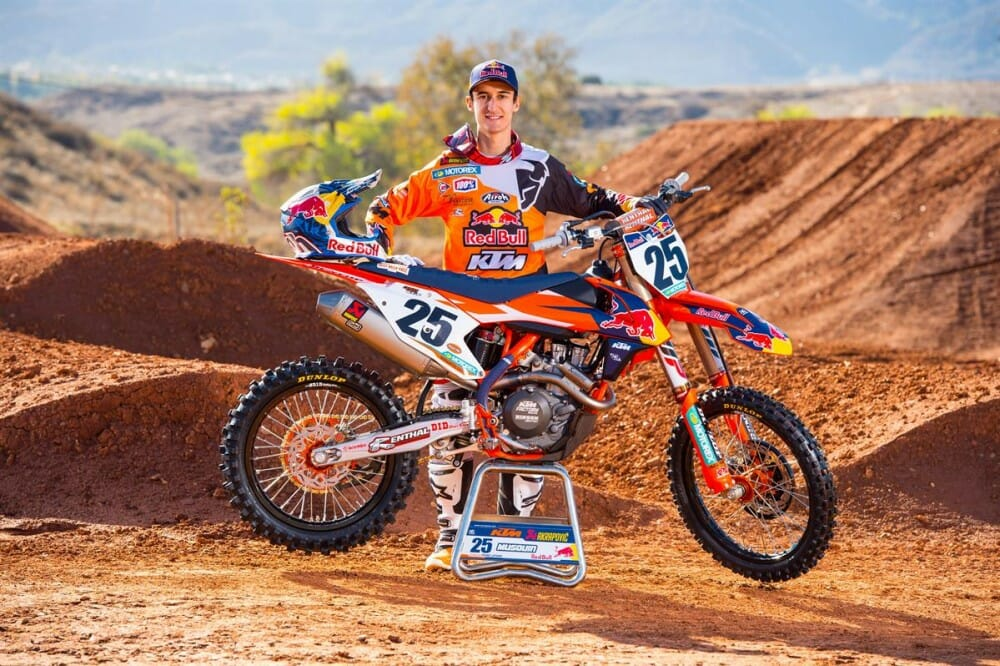 KTM Extends Contract with Marvin Musquin Through 2019 Racing Season - Cycle News