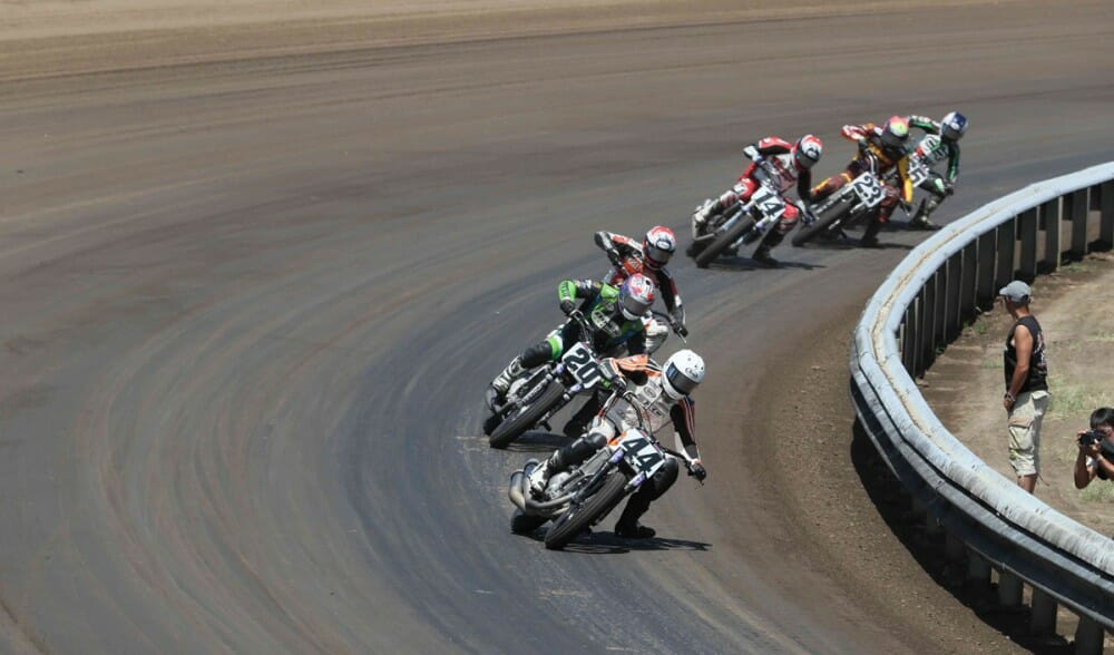 American Flat Track Heads to Springfield for a Memorial Day Doubleheader