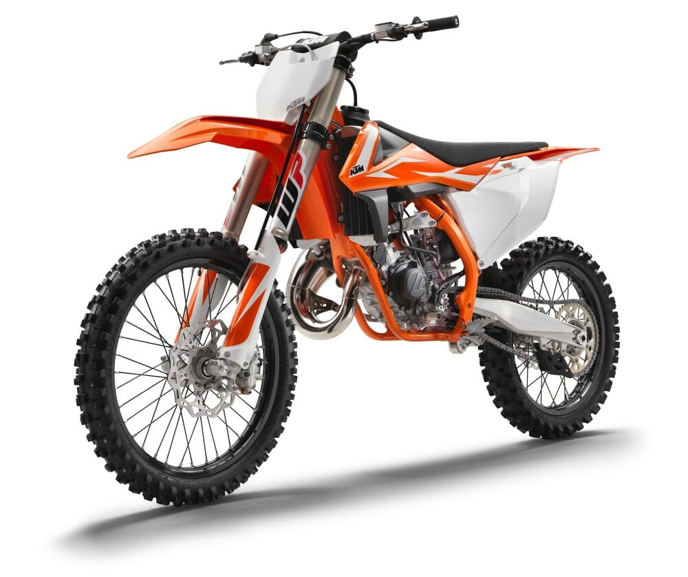 2018 ktm motocross sx lineup cycle news - Moto crosse ktm ...