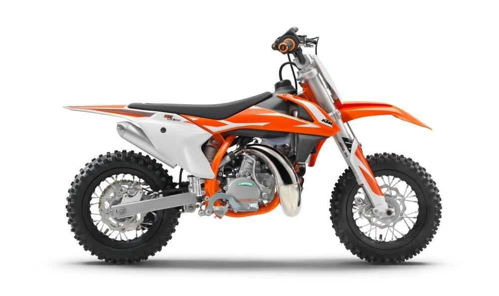 2018 KTM Motocross SX Lineup
