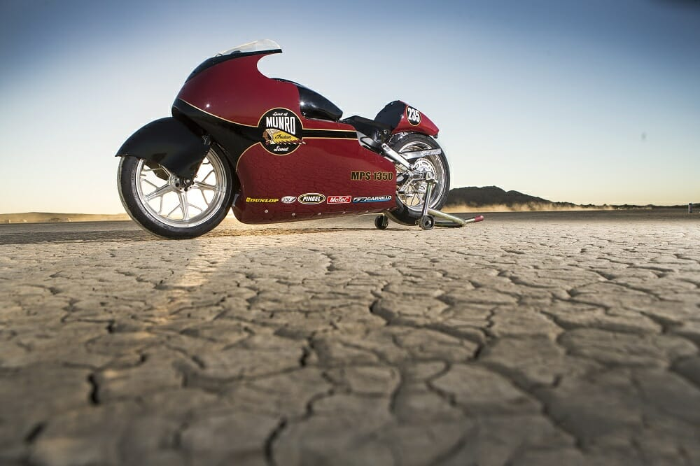 Indian Motorcycle will re-create the historic run at Bonneville on August 13