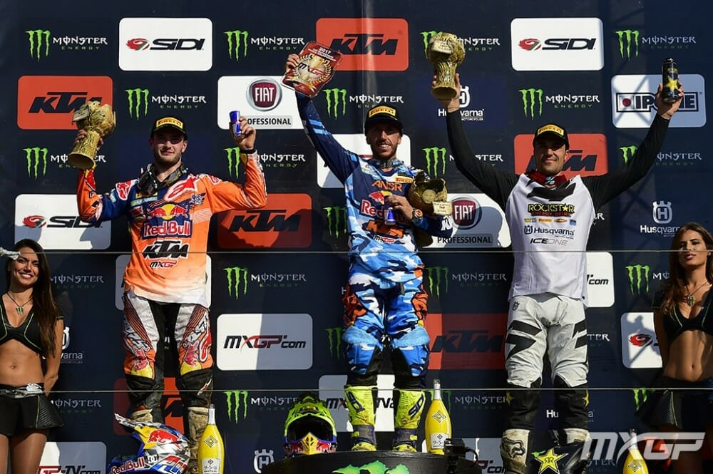2017 MXGP From Teutschenthal Results