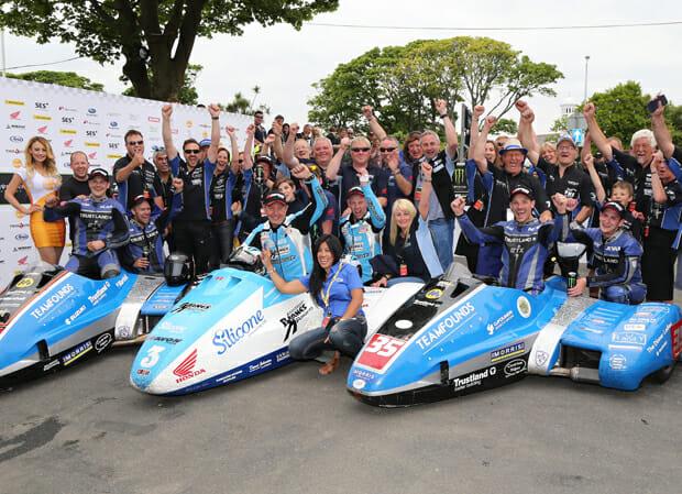 2017 Sure Sidecar TT Races Isle of Man