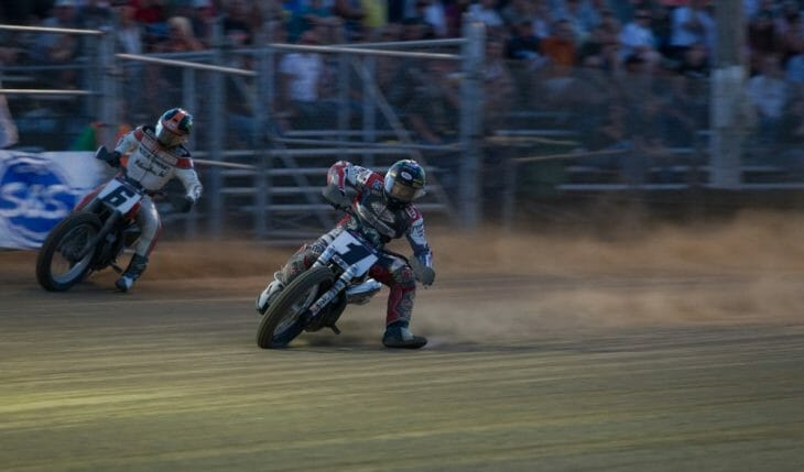 American Flat Track Hits The Pea Gravel For The Lima Half-Mile