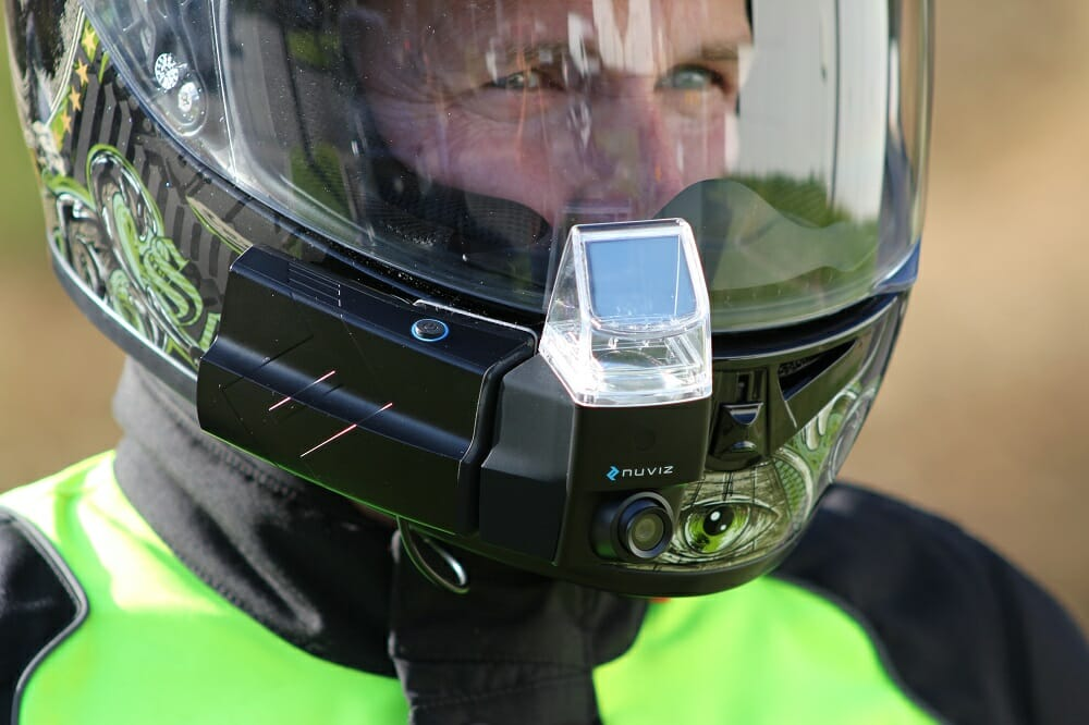 Nuviz Motorcycle Head-Up Display: PRODUCT LAUNCH