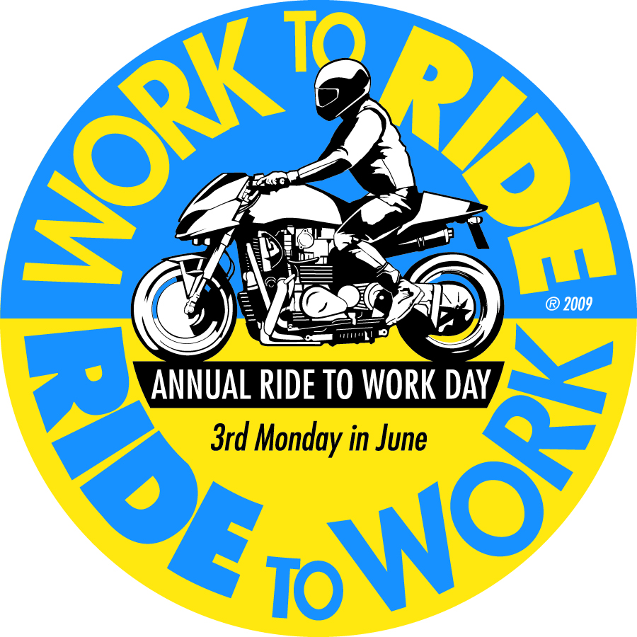 June 19 is Ride To Work Day
