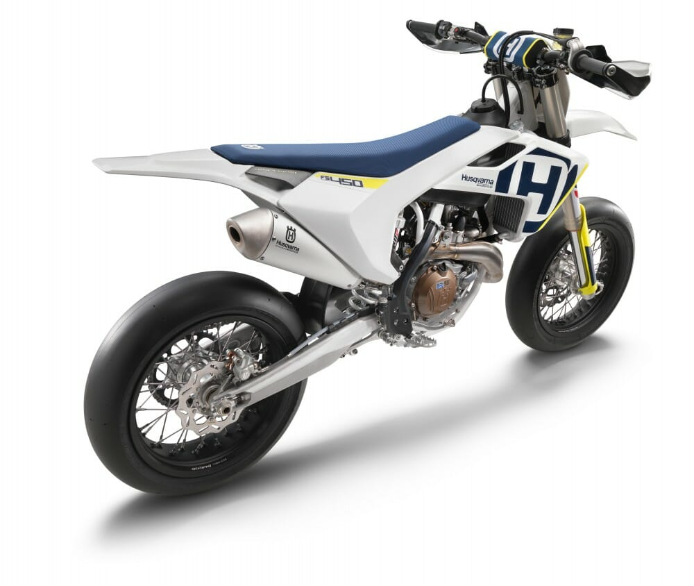 2018 Husqvarna Supermoto FS 450 First Look