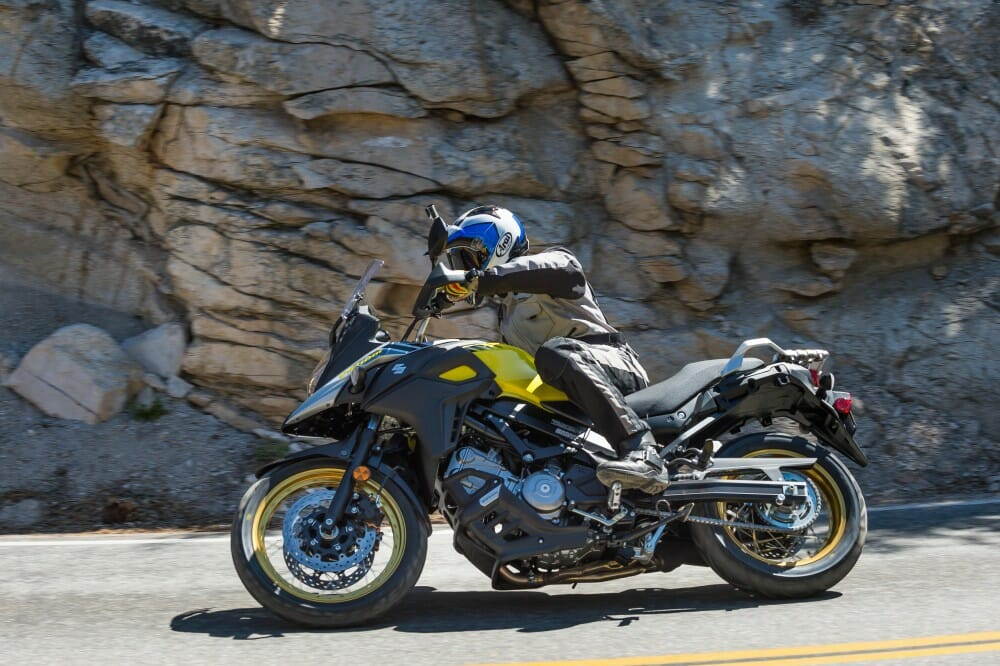 2017 suzuki v strom 650 650xt first test cycle news. Black Bedroom Furniture Sets. Home Design Ideas