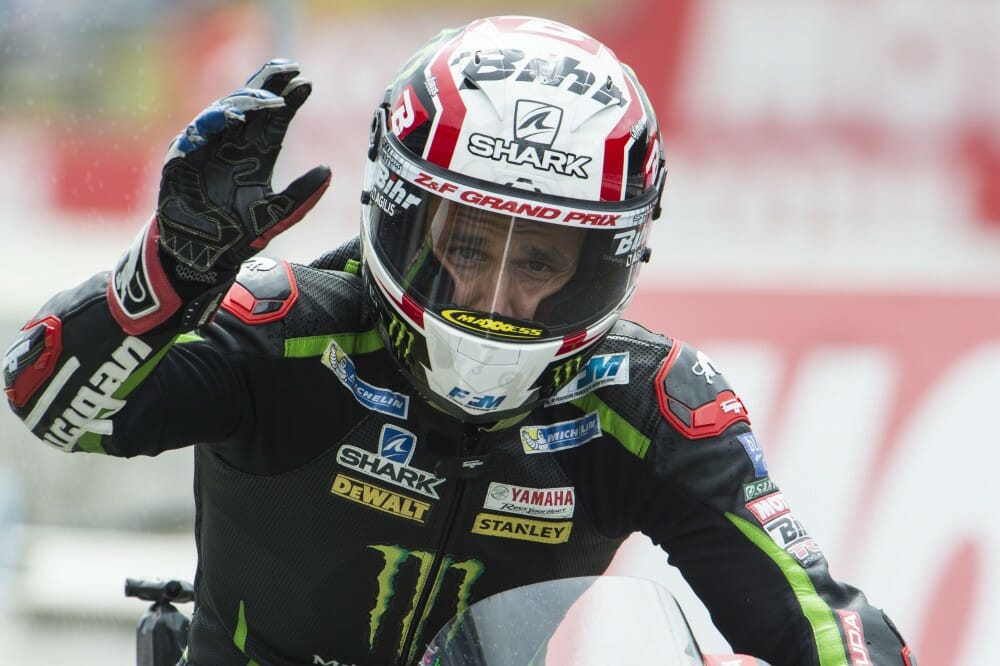 Johan Zarco scored the pole at Assen.