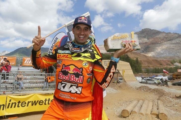 KTM Enduro Factory Racing's Alfredo Gomez Wins Erzberg Rodeo Red Bull Hare Scramble