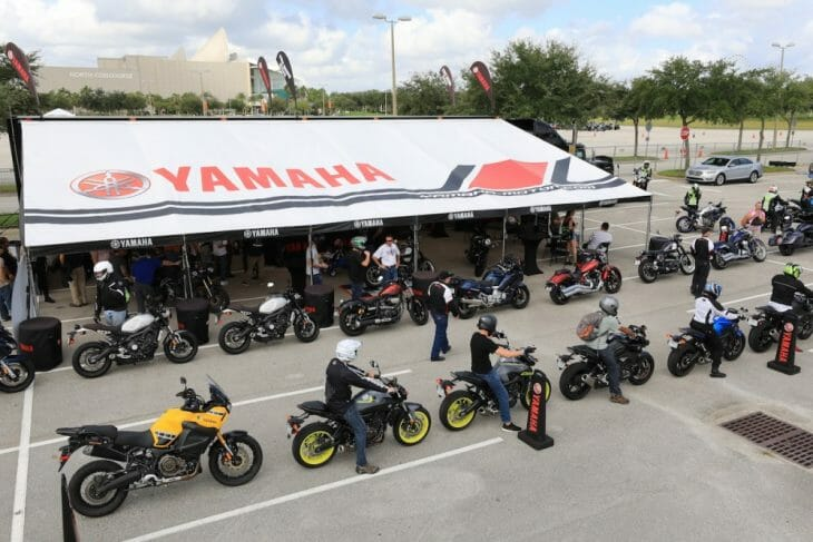 Yamaha Motor Corporation - Motorsports and Watercraft Groups Both Represented on AIMExpo Show Floor