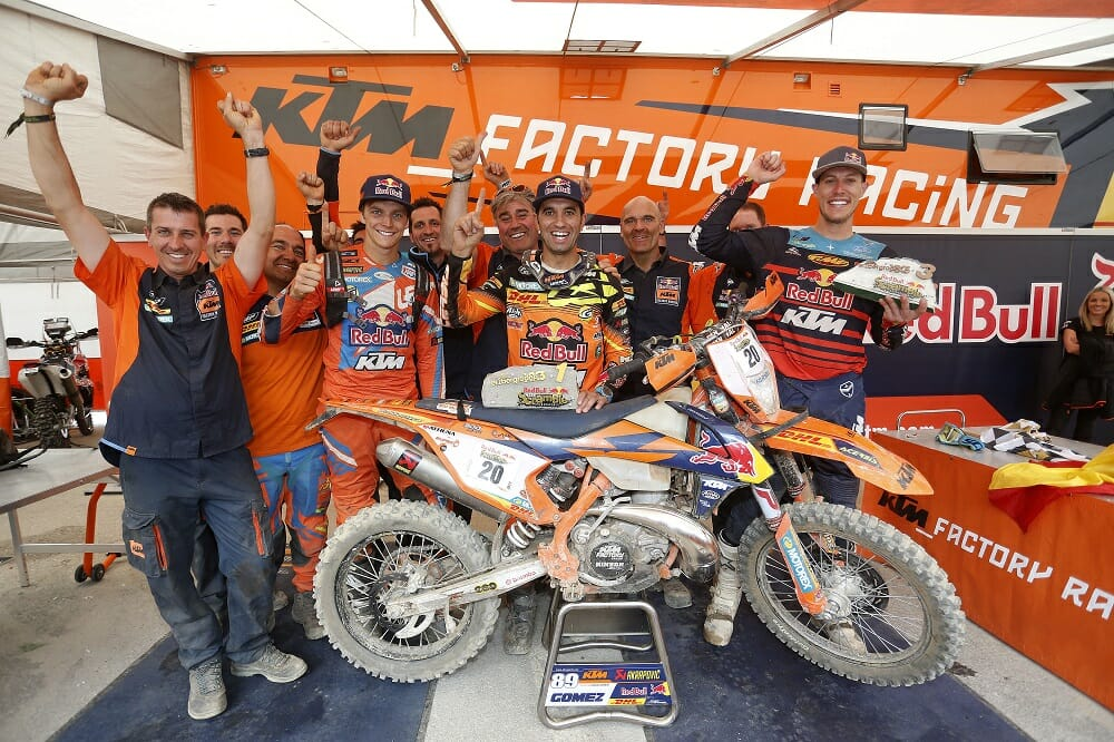 KTM Enduro Factory Racing - Erzberg Rodeo Red Bull Hare Scramble