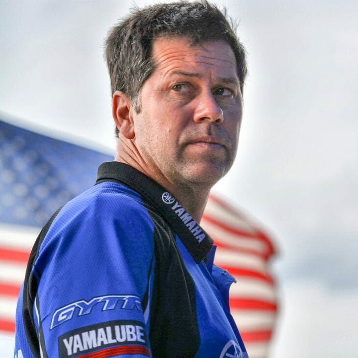 N-Fab/AmPro Yamaha team owner Randy Hawkins