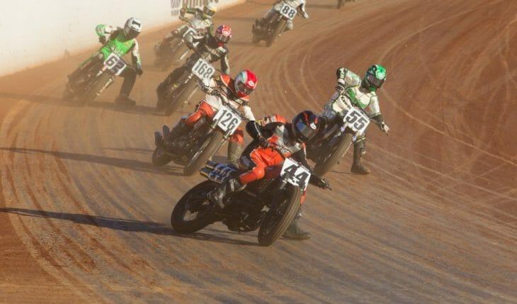 American Flat Track action resumes at the Harley-Davidson Calistoga Half-Mile