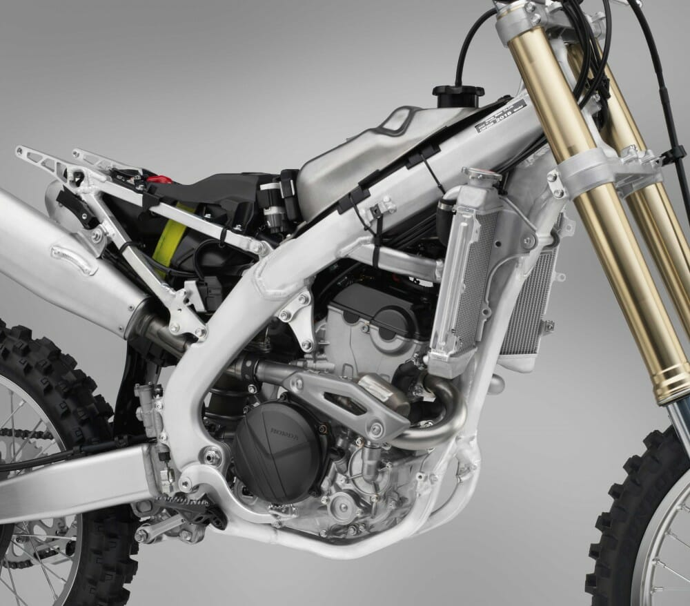 2018 Honda Crf250r First Look Cycle News