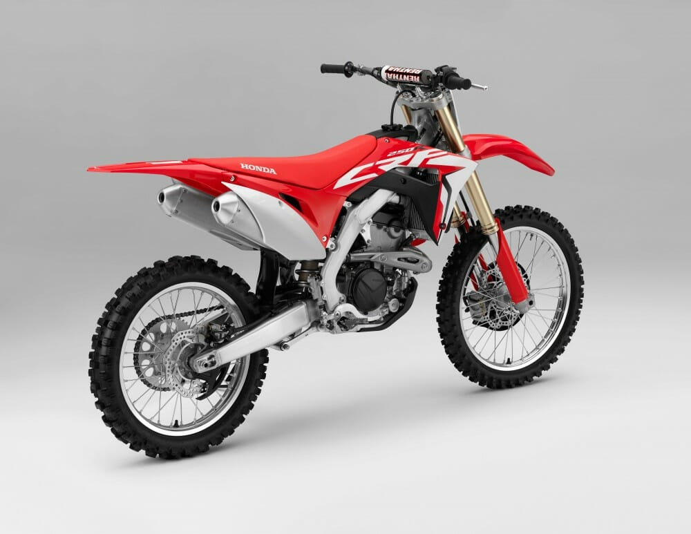 2018 honda crf250r first look cycle news. Black Bedroom Furniture Sets. Home Design Ideas